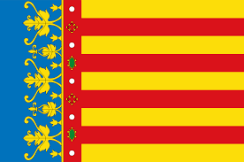 the detailed but beautiful flag of the valencian community