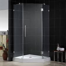 Angled Shower Doors Dreamline Neolux Neo Angled Shower Enclosures 34 X 34 Brackets