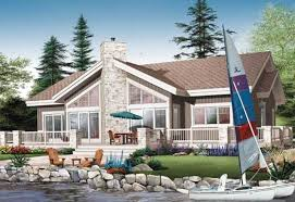 water front house plans contemporary house plan 4 bedrooms 3 bath 2146 sq ft plan 5 771