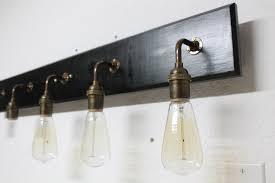 brass bathroom vanity light bathroom vanity l antique brass lighting by open shelf bathroom