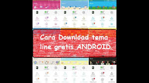 theme line android ultraman cara download 300 tema line android gratis youtube