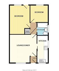 Nab Floor Plan 2 Bedroom Property For Sale In Ash Road Kingsteignton Newton