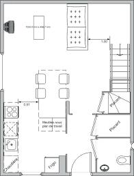 plan de la cuisine plan table de cuisine globr co