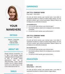 Free Elegant Resume Templates Download Professional Resume Template Word Haadyaooverbayresort Com