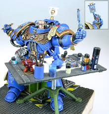 warhammer 40k miniature painting miniature