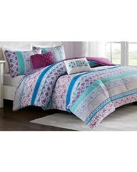 Teal And Purple Comforter Sets Don U0027t Miss This Deal Intelligent Design Joni Purple Comforter Set