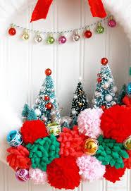 vintage style winter wonderland wreath