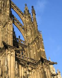 flying buttress flying buttress and gargoyles cologne cathedral jpg flickr