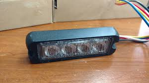 2nd Light Led Surface Tir Linear Emergency Warning Strobe Light Head