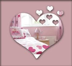 decorative framed mirrors promotion shop for promotional hearts 3d mirror wall sticker decorative mirror frame sticker for bedroom nersury living room deco