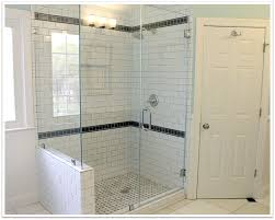 how frameless shower doors work