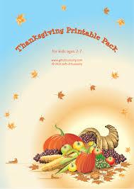 thanksgiving printables pack 70 thanksgiving