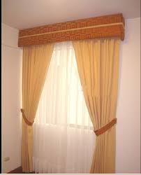 cenefas de tela para cortinas decoracion de cortinas para salas modernas