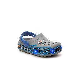 star wars crocs light up crocs star wars x wing youth light up clog grey blue boys