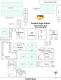 foothill cus map cus map png