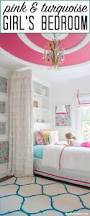 pink bedroom reveal the heathered nest