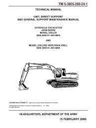 200lc technical manual operation and tests tm1663 pdf diesel