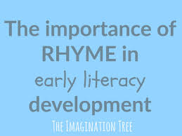 Words That Rhyme With Table The Importance Of Rhyme In Early Literacy Development The