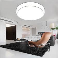 Led Lights For Bedroom 18w Round Led Ceiling Panel Light 1600 Lumens 7000k Bedroom Living