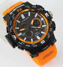 Jam Tangan G Shock tangan g shock mtg1000 dualtime orange