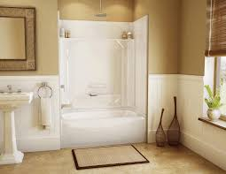 cute bathroom decorating ideas tile shower with bench white