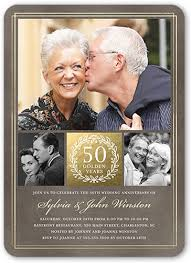50th wedding invitations 50th wedding anniversary invitations shutterfly