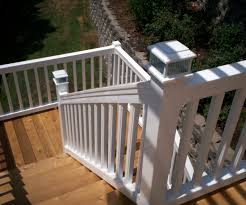 Deck Stair Handrail Height Unique Iron 1 With Burlywood Staircase Railing Ideas Stair Wood