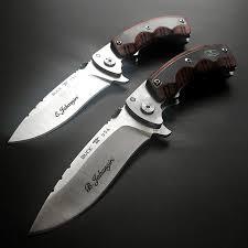 engraved buck knives buck 547 open season folding skinner knife engraved knives