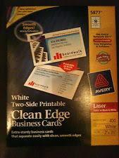 Avery Laser Business Cards Laser Printer Paper Ebay