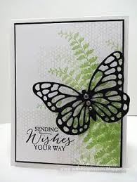 handmade birthday card from ladybug designs black and