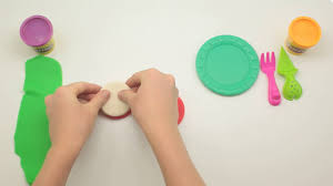 how to make play doh watermelon cake art and craft modelling clay