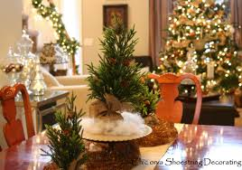 Christmas Dining Room Decorations - chic on a shoestring decorating christmas home tour 2011 part 1