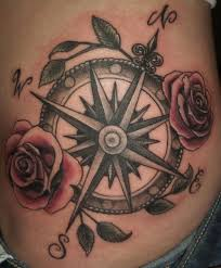 35 most amazing compass tattoos u2013 traditional compass tattoo