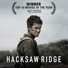 hacksawridge has been named one of the top 10 movies of the year