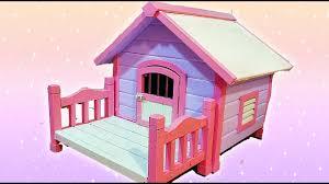 kawaii dog house diy youtube
