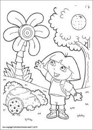 dora coloring pages gifts kids printable free coloring