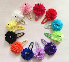 flower hair pins baby flower hairpins hair s hair accessories