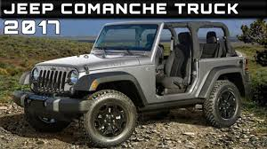jeep pickup comanche 2017 jeep comanche truck review rendered price specs release date
