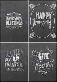 chalkboard happy thanksgiving festival collections