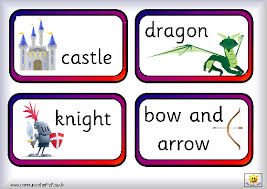 Words Cards Castles