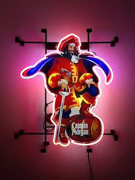 captain morgan neon bar light new captain morgan rum pub bar neon light sign 19 x15 122 00