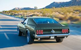 Black 69 Mustang Fastback 1969 Ford Mustang Boss 302 1969 Ford Mustang Boss 429 And 1971