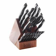 cutco kitchen knives cutco 21 knife block set