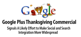 plus thanksgiving day commercial what does it signal