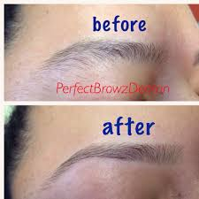 threading makes your eyebrows lot better than waxing or shaving or