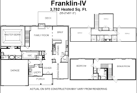 4 bedroom house plans with extra bed and bath in basement