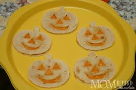 halloween recipe jack o u0027lantern quesadillas