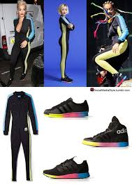 adidas one jumpsuit social media style ora s blue and yellow side black