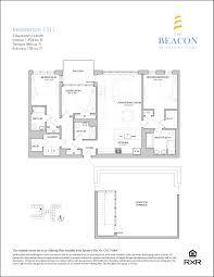 3 bedroom 3 bath floor plans availability the beacon at garvies point