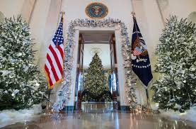 home design story christmas update the white house holiday decorations include a 300 pound